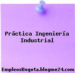 Práctica Ingeniería Industrial