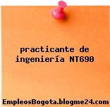 practicante de ingeniería NT690