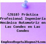 (Z618) Práctica Profesional Ingeniería Mecánica Automotriz en Las Condes en Las Condes