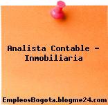 Analista Contable – Inmobiliaria