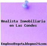 Analista Inmobiliaria en Las Condes