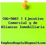 (DG-508)   Ejecutivo Comercial y de Alianzas Inmobiliaria