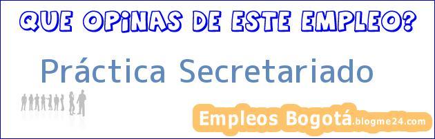 Práctica Secretariado