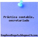 Práctica contable, secretariado