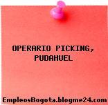 Operario Picking Pudahuel
