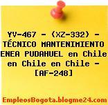 YV-467 – (XZ-332) – TÉCNICO MANTENIMIENTO ENEA PUDAHUEL en Chile en Chile en Chile – [AF-248]