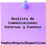 Analista de Comunicaciones Internas y Eventos