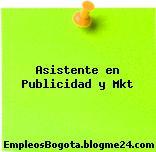 Asistente en Publicidad y Mkt