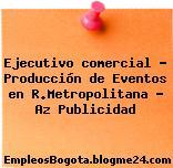 Ejecutivo comercial – Producción de Eventos en R.Metropolitana – Az Publicidad
