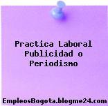 Practica Laboral Publicidad O Periodismo
