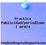 Practica Publicidad/periodismo | BF974
