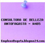 CONSULTORA DE BELLEZA ANTOFAGASTA – W485