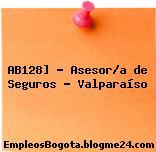 AB128] – Asesor/a de Seguros – Valparaíso