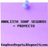ANALISTA SOAP SEGUROS – PROYECTO
