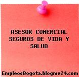 ASESOR COMERCIAL SEGUROS DE VIDA Y SALUD