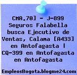 CMA.70] – J-899 Seguros Falabella busca Ejecutivo de Ventas, Calama [A433] en Antofagasta | CQ-399 en Antofagasta en Antofagasta