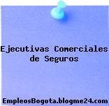 EJECUTIVAS COMERCIALES DE SEGUROS