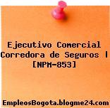 Ejecutivo Comercial Corredora de Seguros | [NPM-853]