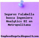Seguros Falabella busca Ingeniero Analytics BI en Metropolitana