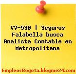 VV-530 | Seguros Falabella busca Analista Contable en Metropolitana