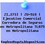 ZI.273] | ZU-519 | Ejecutivo Comercial Corredora de Seguros en Metropolitana TL075 en Metropolitana