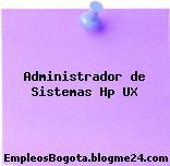 Administrador de Sistemas Hp UX