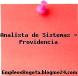 Analista de Sistemas – Providencia
