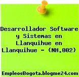 Desarrollador Software y Sistemas en Llanquihue en Llanquihue – (NH.002)