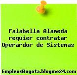 Falabella Alameda requier contratar Operardor de Sistemas