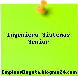 Ingeniero Sistemas Senior