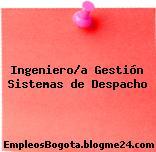 Ingeniero/a Gestión Sistemas de Despacho