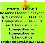 PYC919 [ED.242] Desarrollador Software y Sistemas – T471 en Llanquihue – (N-083) en Llanquihue en Llanquihue en Llanquihue en Llanquihue