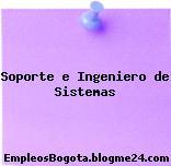 Soporte e Ingeniero de Sistemas