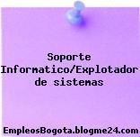 Soporte Informatico/Explotador de sistemas