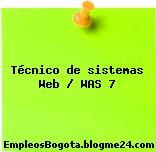 Técnico de sistemas Web WAS 7