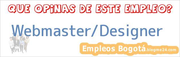 Webmaster/Designer