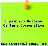 Ejecutivo Gestión Cartera Corporativa