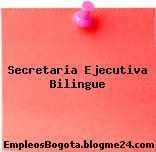 Secretaria Ejecutiva Bilingue