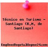 Técnico en Turismo – Santiago (R.M. de Santiago)
