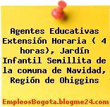 Agentes Educativas Extensión Horaria ( 4 horas), Jardín Infantil Semillita de la comuna de Navidad, Región de Ohiggins
