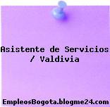 Asistente de Servicios / Valdivia