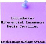 Educador(a) Diferencial Enseñanza Media Cerrillos