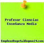 Profesor Ciencias Enseñanza Media