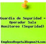 Guardia de Seguridad – Operador Sala Monitoreo (Seguridad)