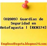 (KQ909) Guardias de Seguridad en Antofagasta | [RKN374]